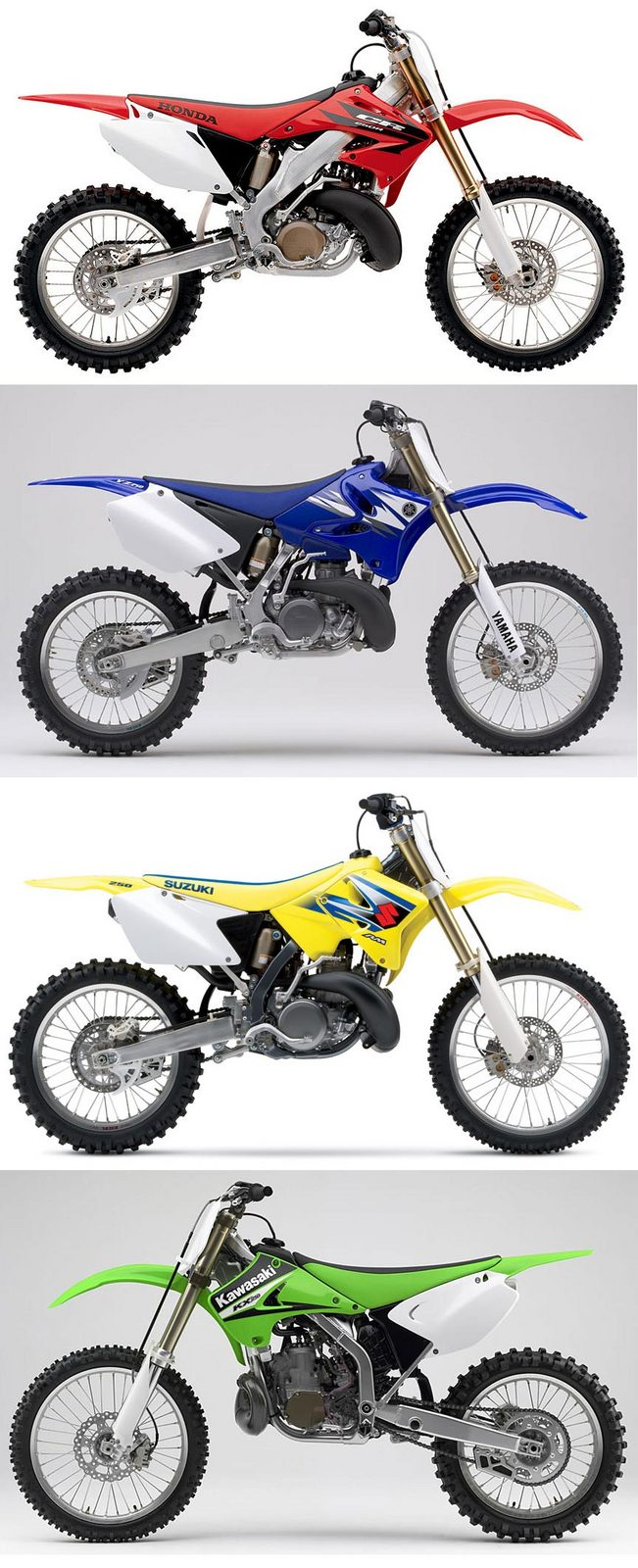 Which Japanese 250cc 2-stroke dirtbike do like best? | South Bay Riders