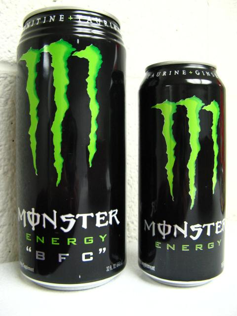 this evening i drank a moster energy bfc south bay riders