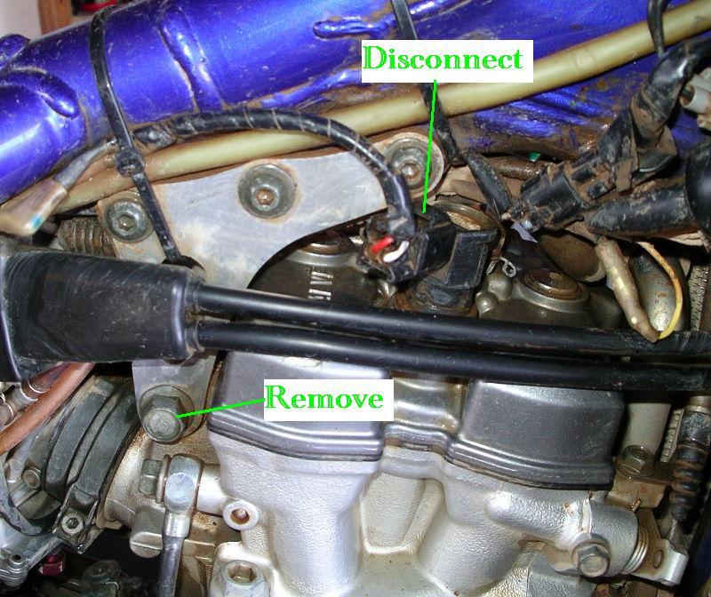 Yamaha Wr426 Wiring Diagram : Valve adjustment yamaha wr south bay riders