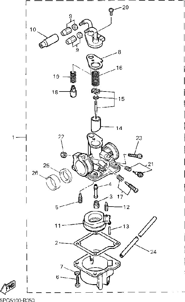 yamaha pw50 carburetor help
