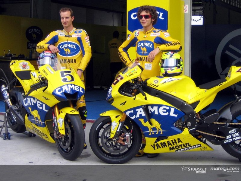 Camel S Back In Motogp With Yamaha South Bay Riders