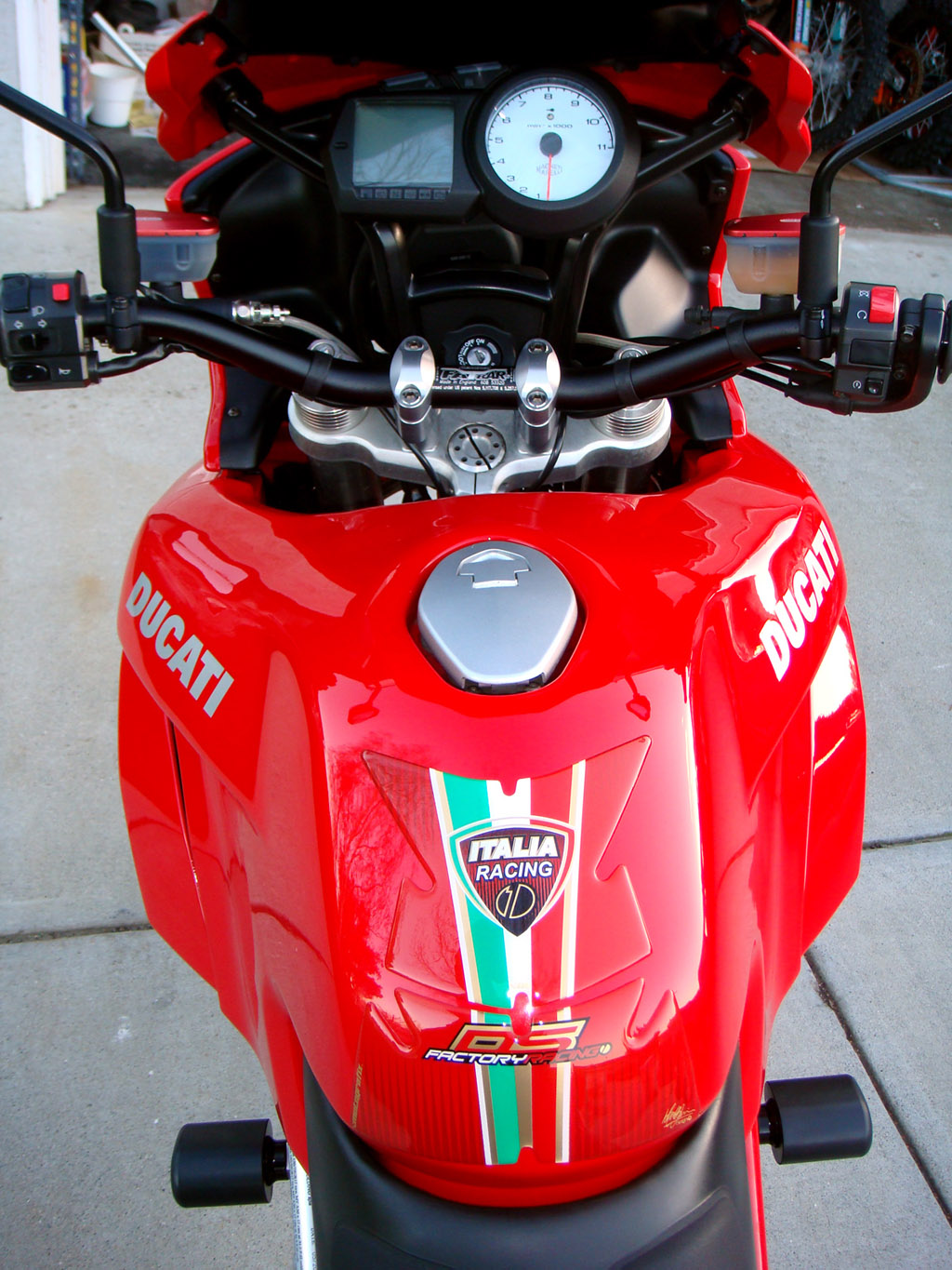 Ducati Multistrada With New Graphics Kit South Bay Riders