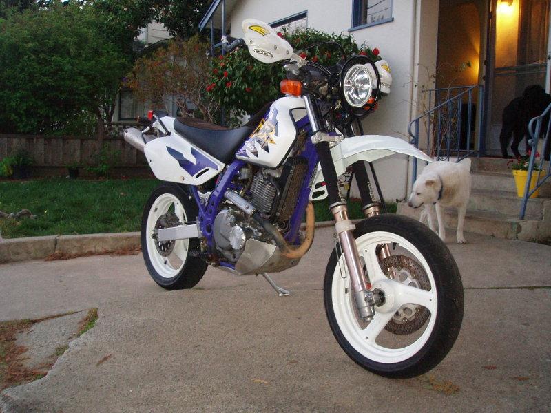 Dr650se Supermoto Conversion Page 3 South Bay Riders