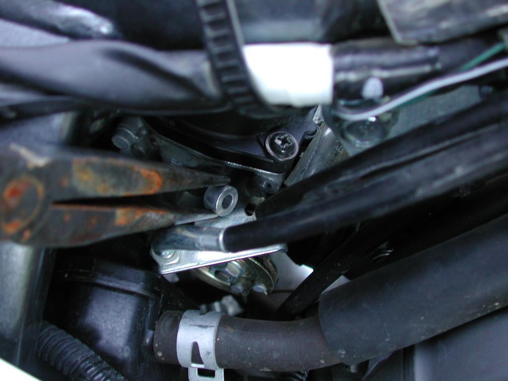 on Carburetor Linkage