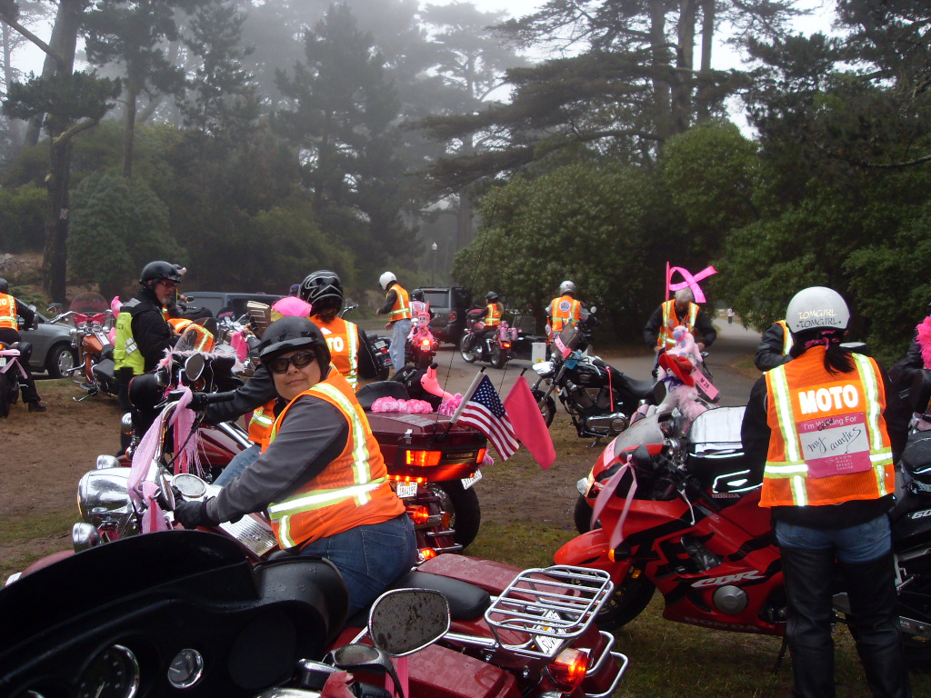 tyler honored at sf avon breast cancer walk by moto crew this past weekend south bay riders. Black Bedroom Furniture Sets. Home Design Ideas