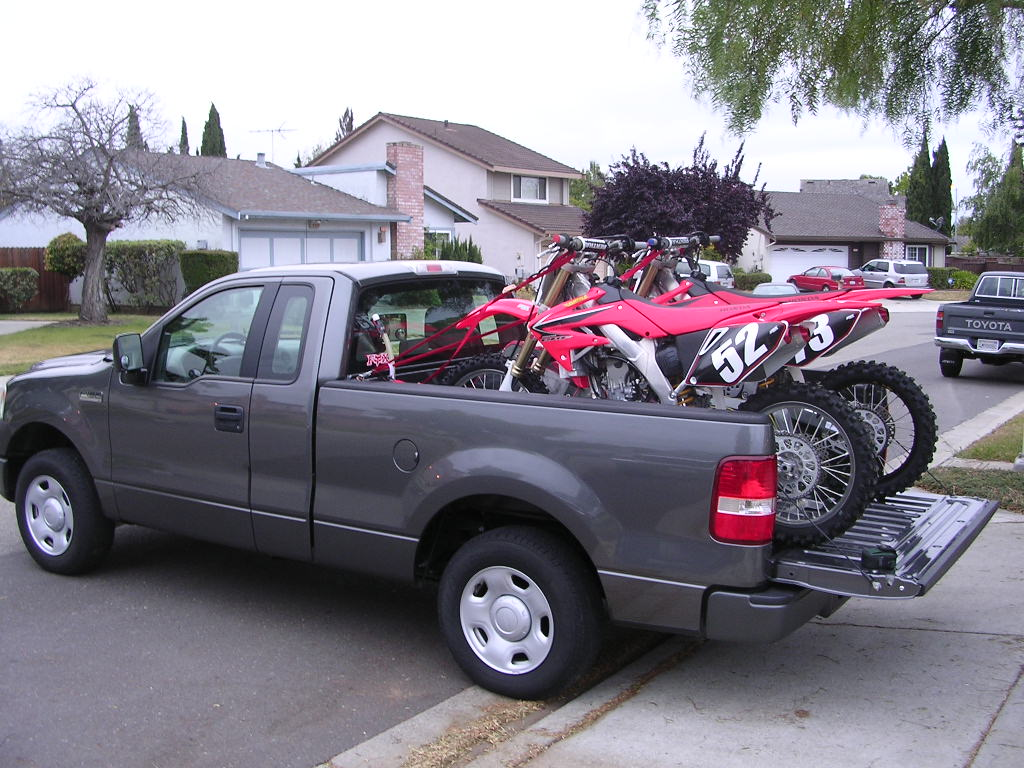 How To Tie Down Two Dirtbikes In Back Of Truck South