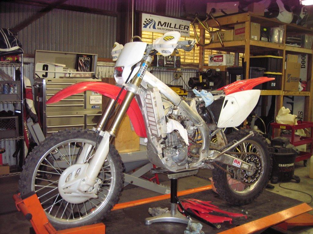 CRF450X top end rebuild | South Bay Riders