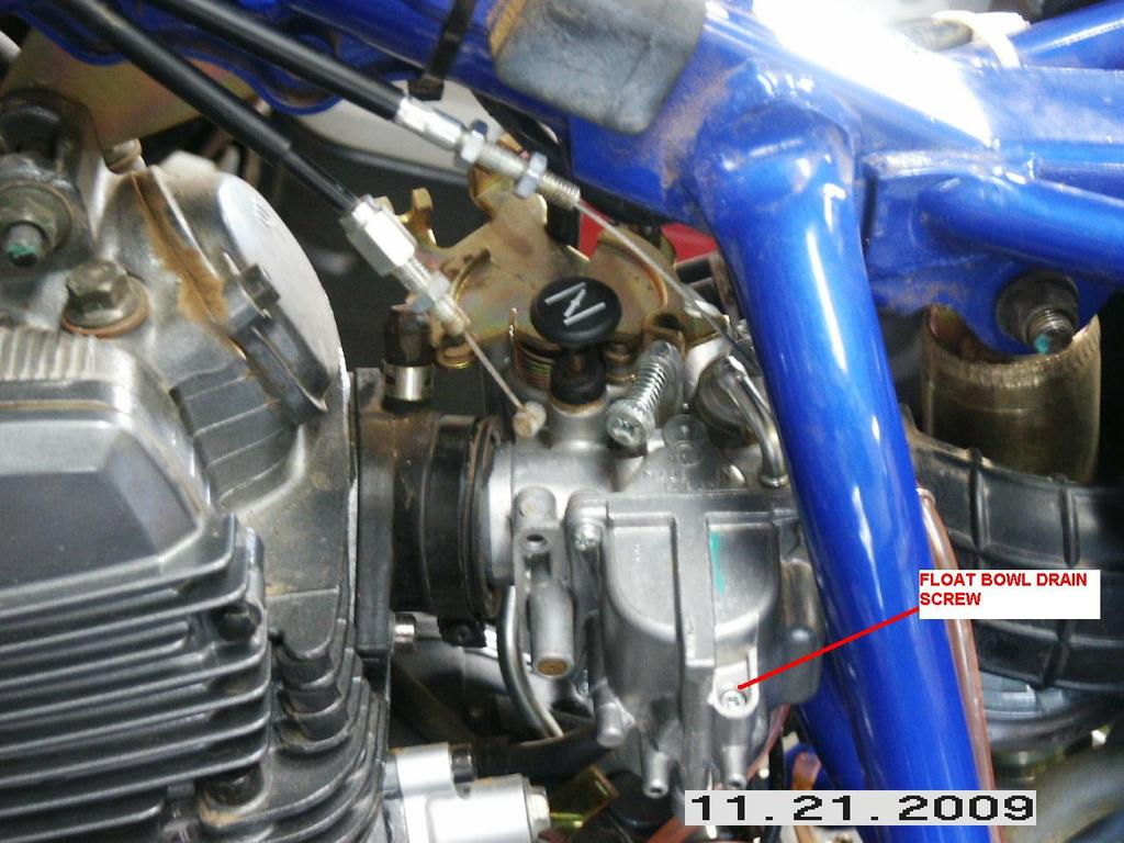 Yamaha ttr230 jetting air box exhaust project south bay for Yamaha ttr 230 carburetor for sale
