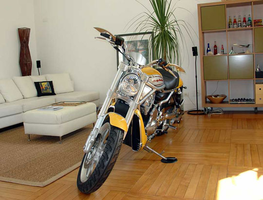 Apartment Living With A Motorcycle South Bay Riders