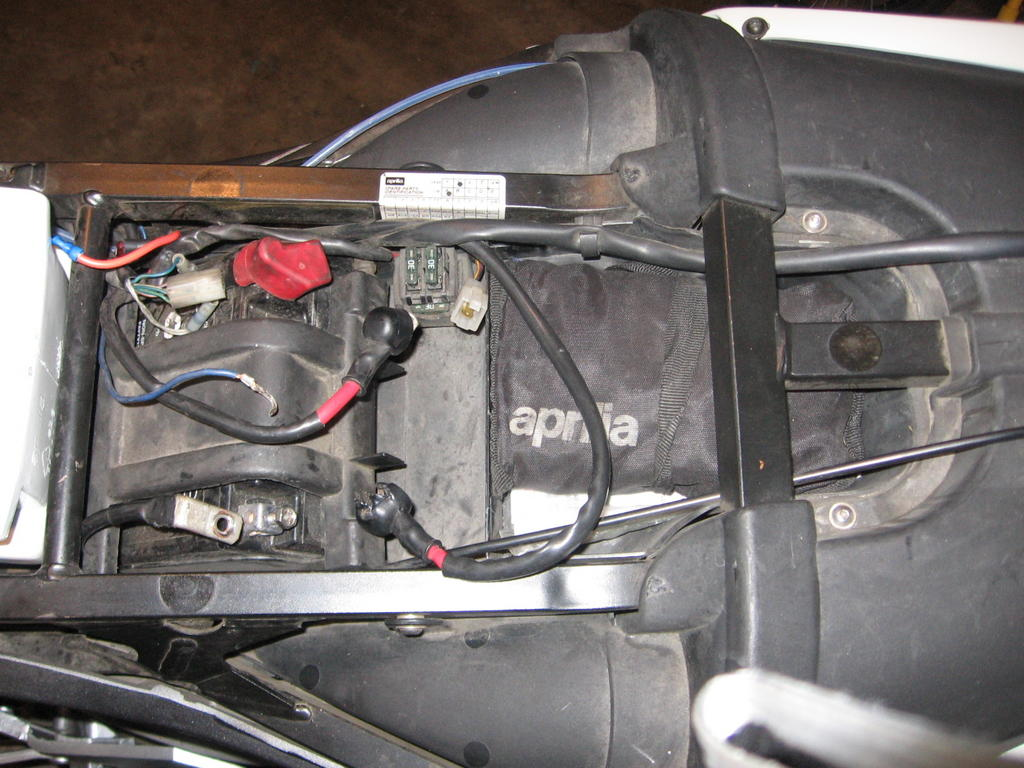motorcycle starter relay modifying to a durable ford unit south relay removed jpg