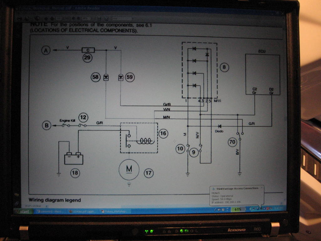 Motorcycle Starter Relay Modifying To A Durable Ford Unit South Schematic Starting