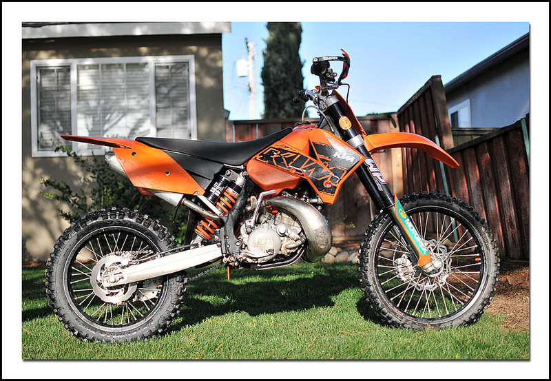 Outstanding Bike Review 2007 Ktm 200 Xc South Bay Riders Pabps2019 Chair Design Images Pabps2019Com