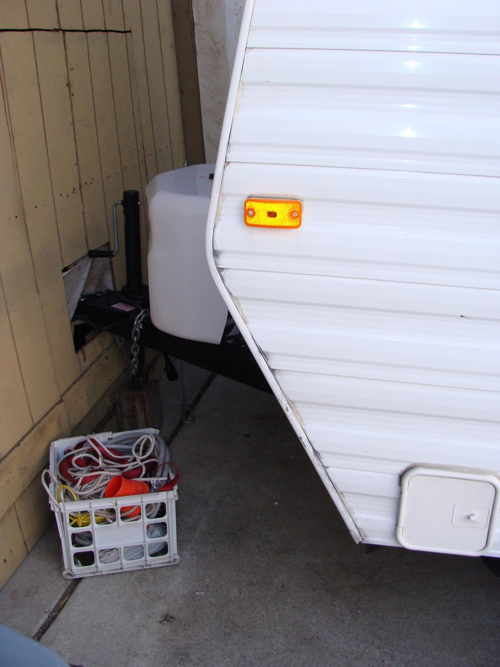 The Front Of My Camper Trailer Is Coming Apart South Bay