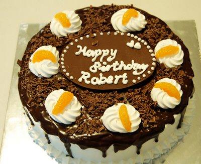Birthday Cake Happy Birthday Robert