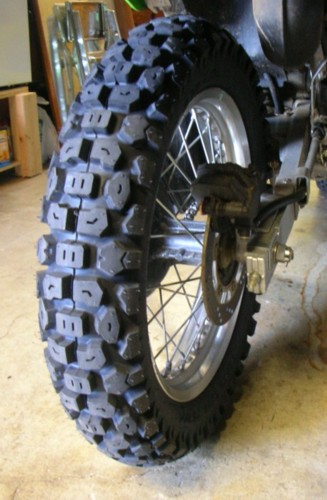 Honda XR650L Dual sport - TIRE of choice? 50/50 dirt ...