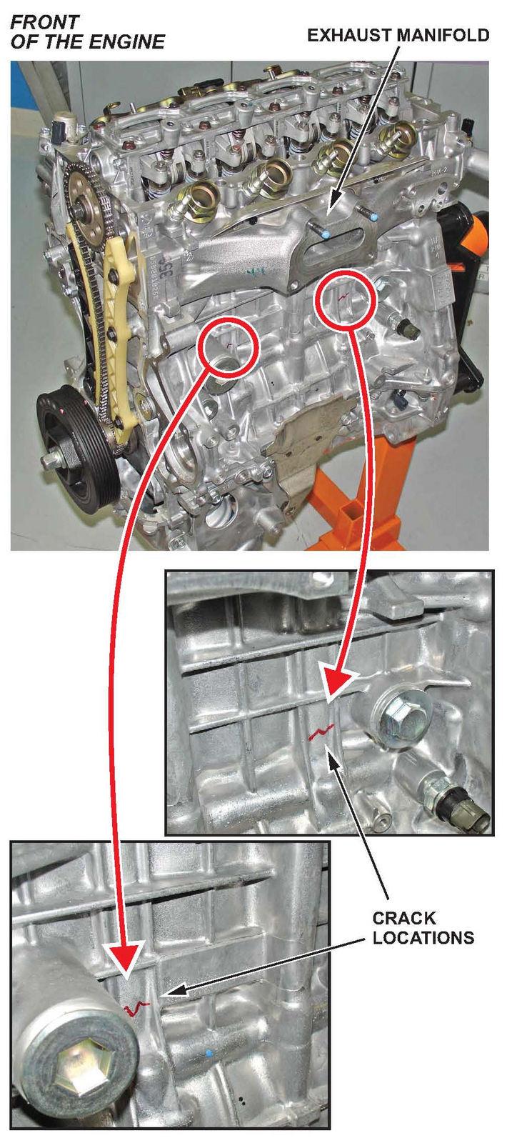 New 1 8 Honda Civic S Engine Block Cracks South Bay Riders