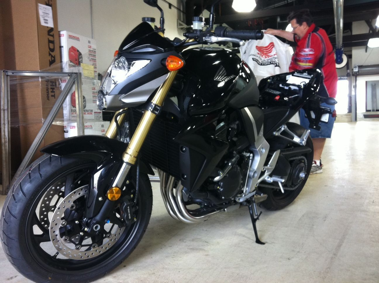 2011 Honda Cb1000rr South Bay Riders