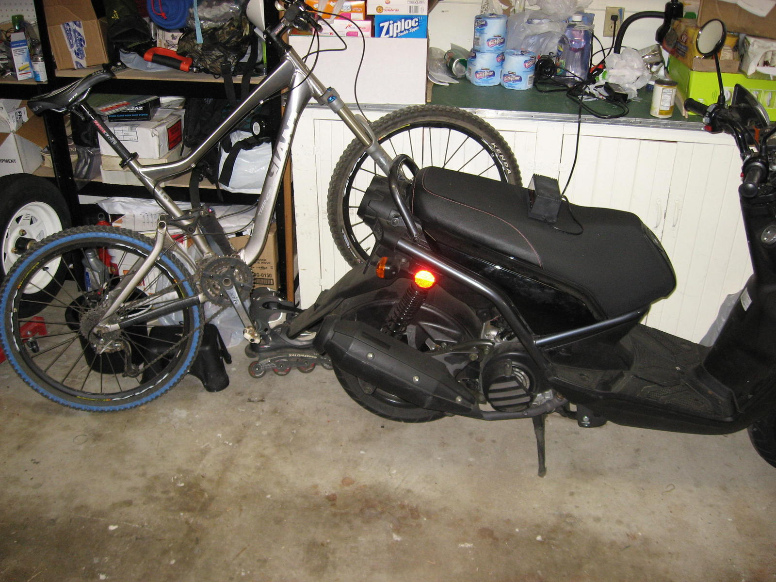 Need Help Best Way To Mount A Bicycle To A Scooter South Bay Riders