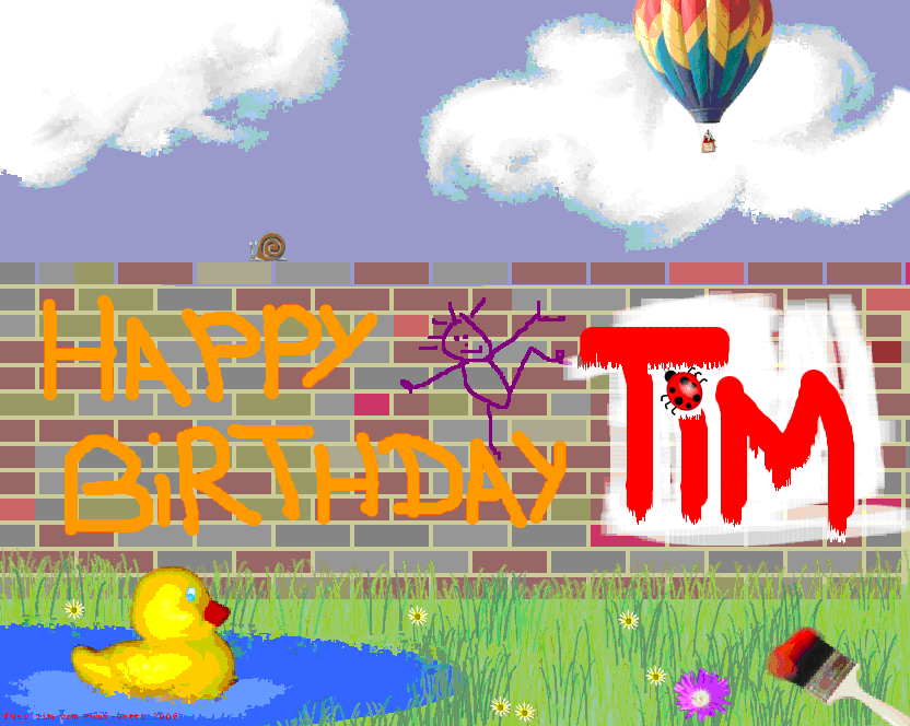 Happy Birthday Tim (Ti...