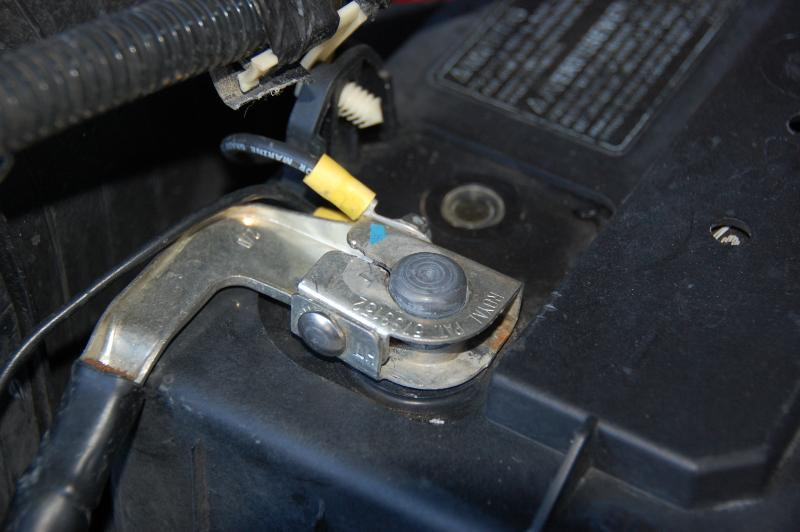 Battery Terminal Removing F250 Truck South Bay Riders
