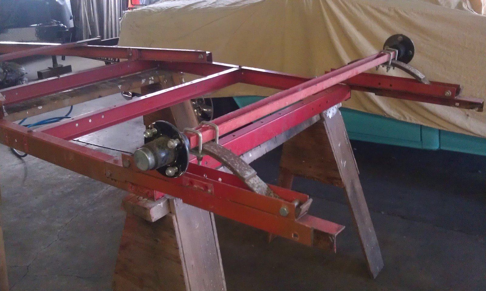 Harbor Freight trailer overhaul | South Bay Riders