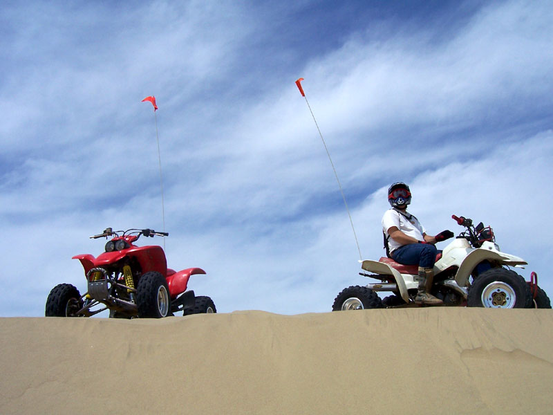 Last Tuesday Rick And I Had A Real Good Time Riding The Sand Dunes Down At Pismo Beach
