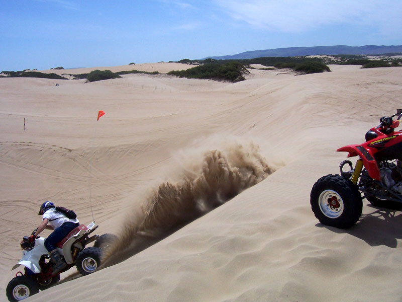 Atv Riding At Pismo Beach Dunes South Bay Riders