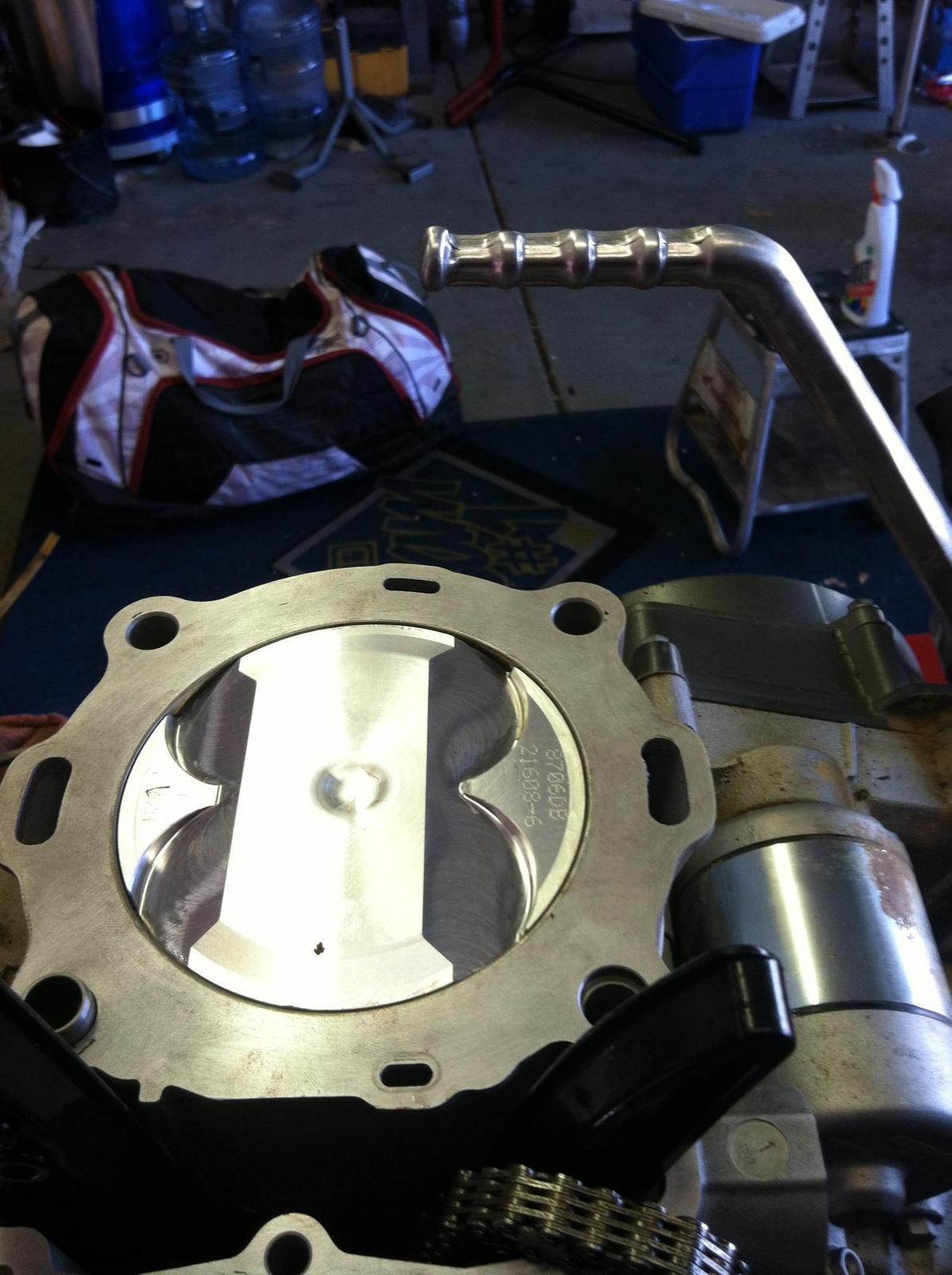 KTM 530 rebuild | South Bay Riders