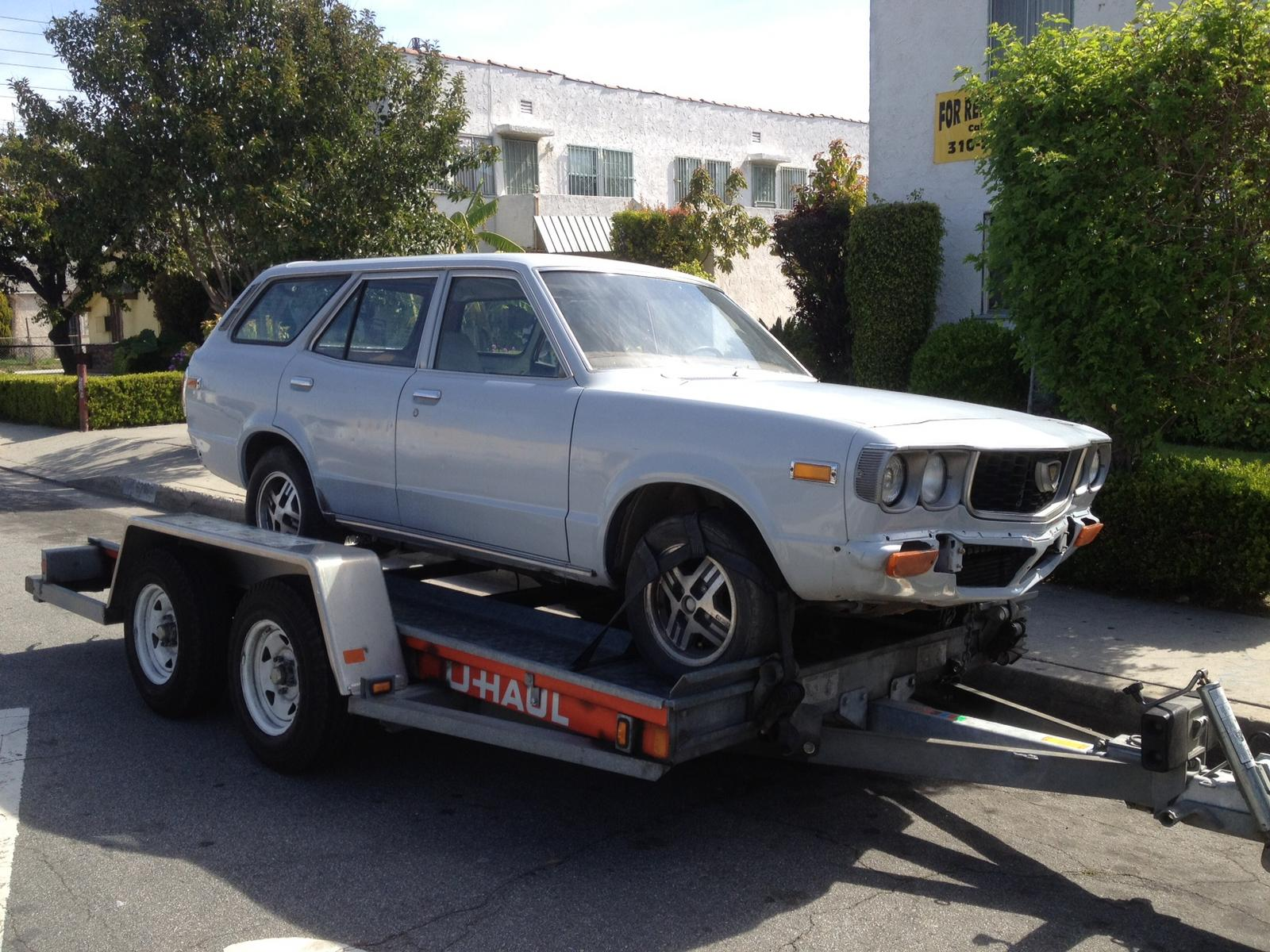 1973 Mazda Rx3 Station Wagon