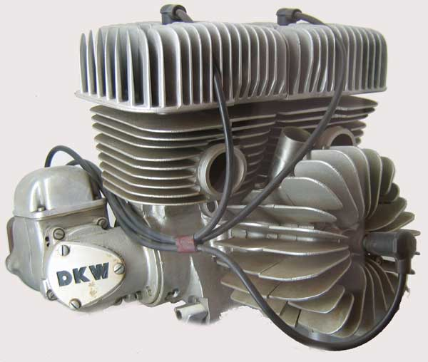 1953 DKW 3-cylinder racer | South Bay Riders