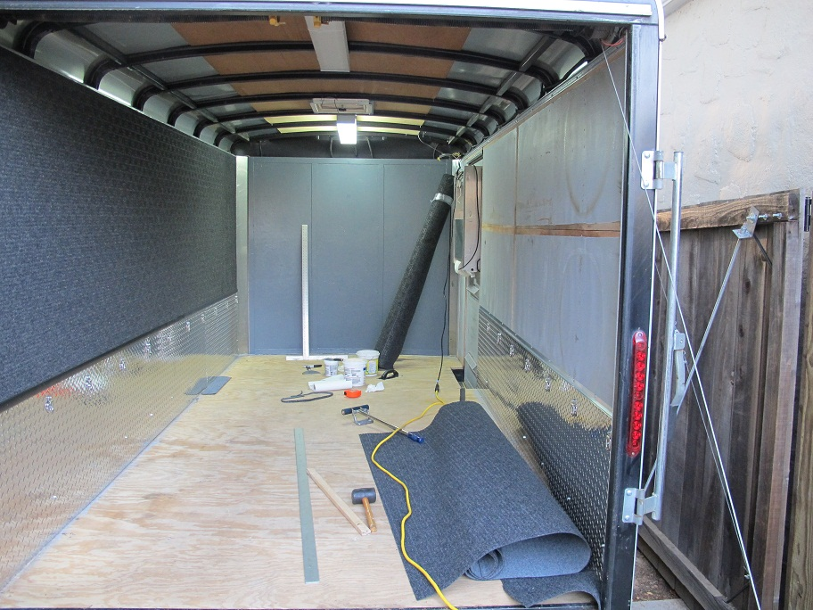Enclosed Trailer Flooring Ideas Car Interior Design