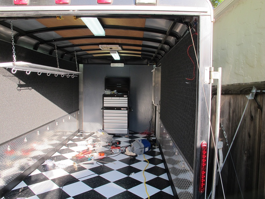 enclosed trailer interior ideas quotes