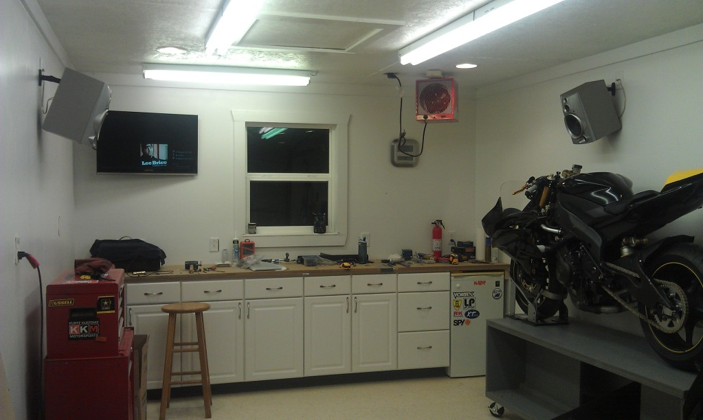 Share Your Motorcycle Work Bench Pictures Here