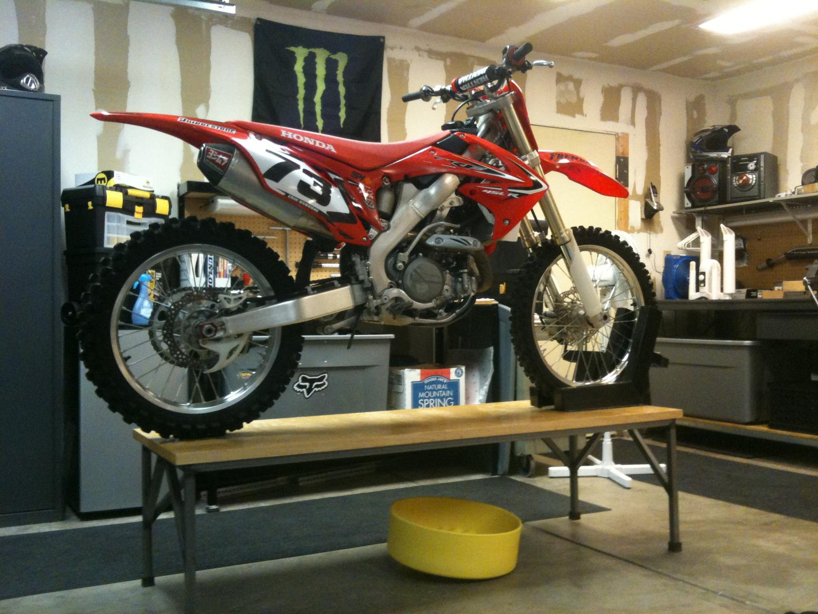 Share your motorcycle work bench pictures here | South Bay ...