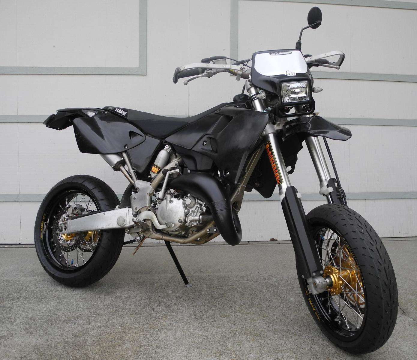 Oh, yes we did - YZ125 Supermoto   South Bay Riders