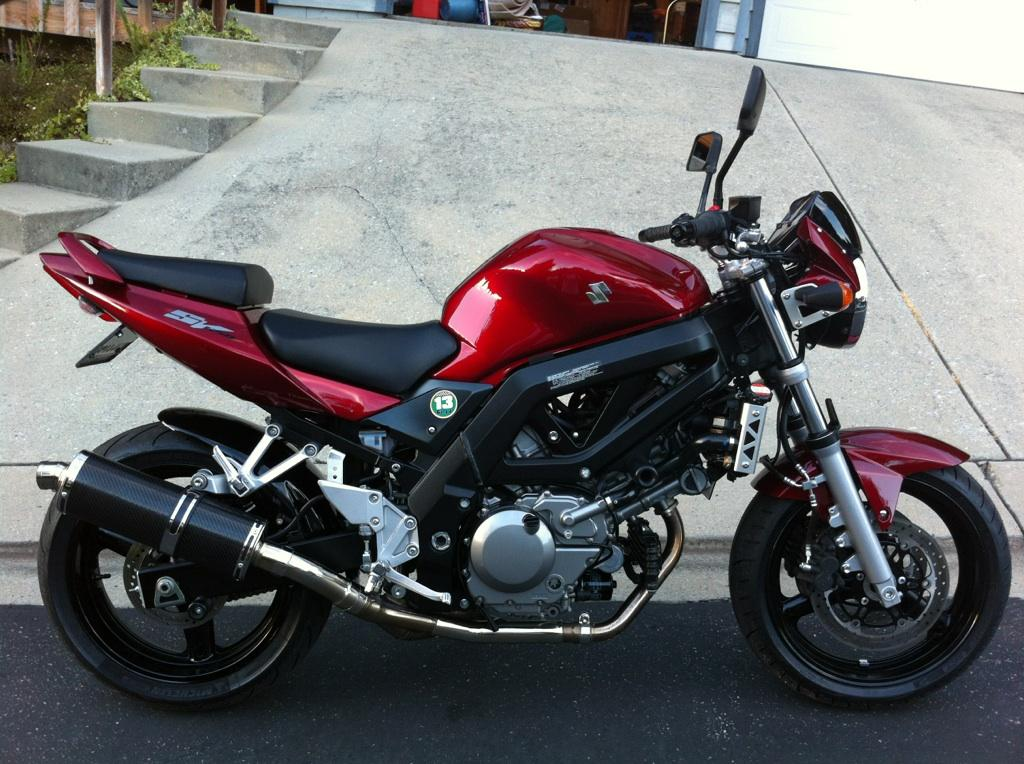 2007 SV650 | South Bay Riders