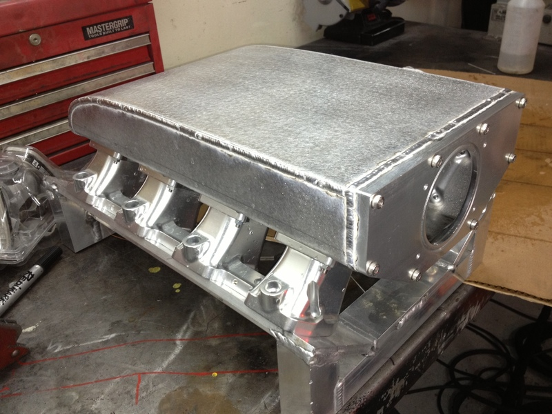 2 000 Hp Ls7 Intake Manifold Fabrication South Bay Riders