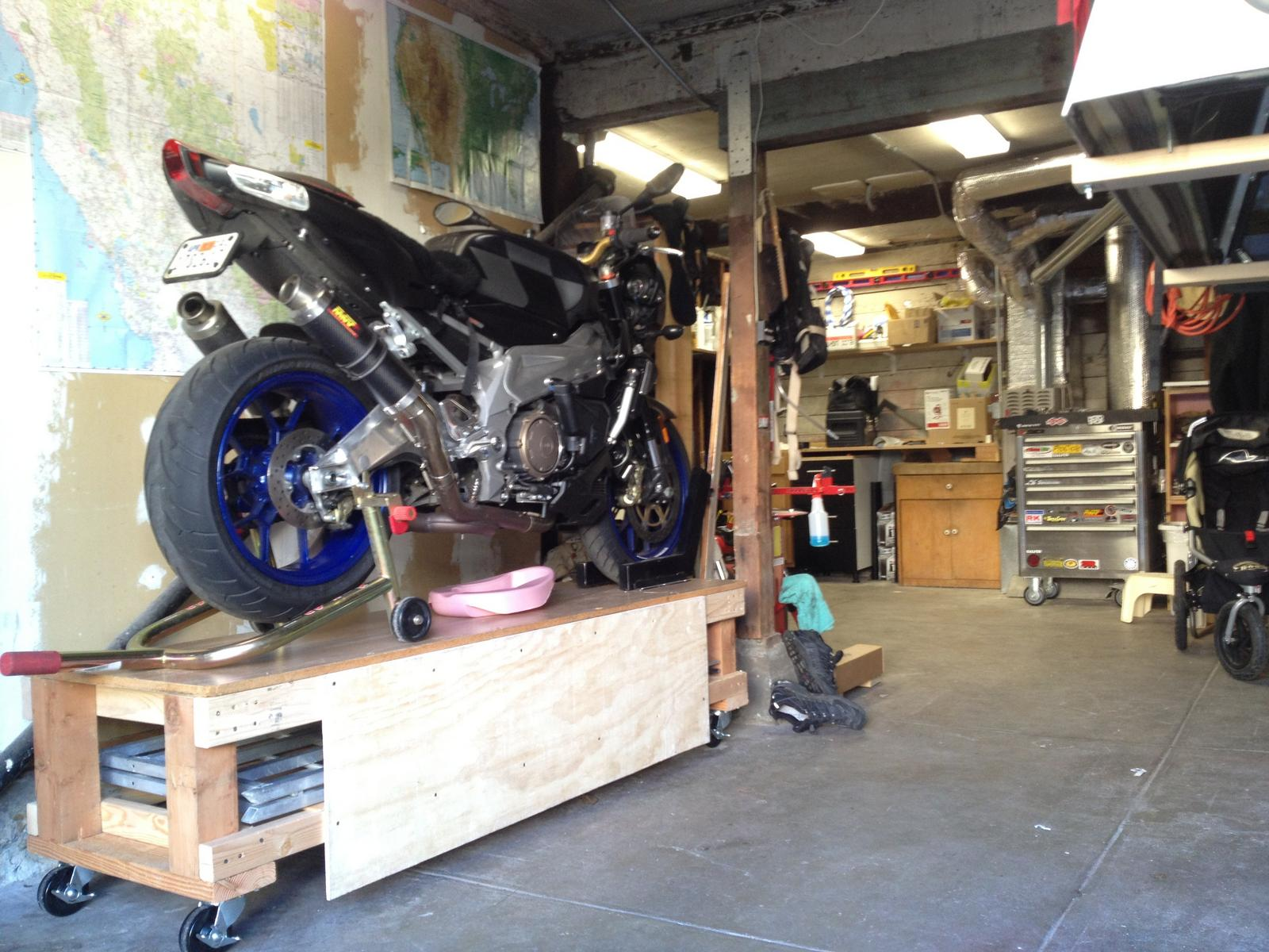 Share Your Motorcycle Work Bench Pictures Here Page 4