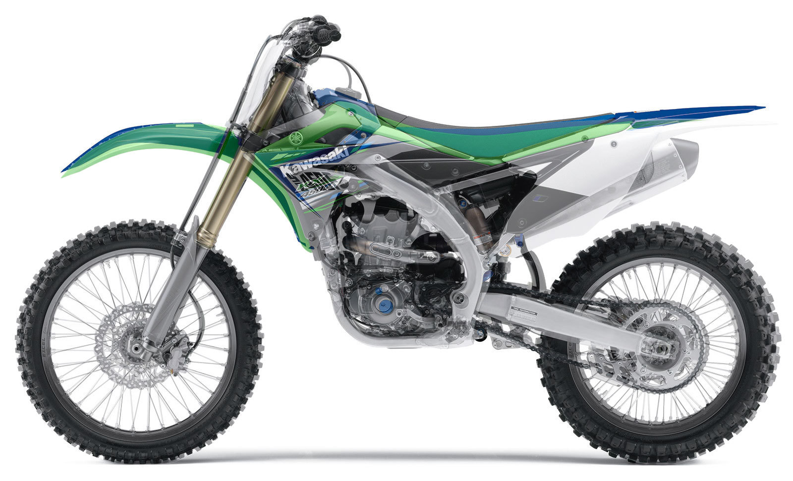 Comparing the 2014 YZ450F to the 2013 KX450F   South Bay Riders
