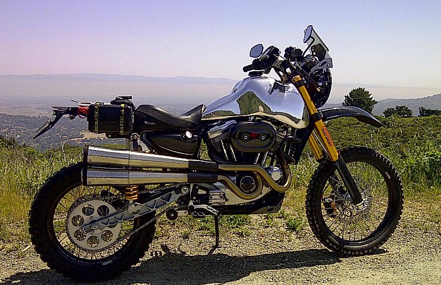 Carducci Harley Davidson dualsport  South Bay Riders
