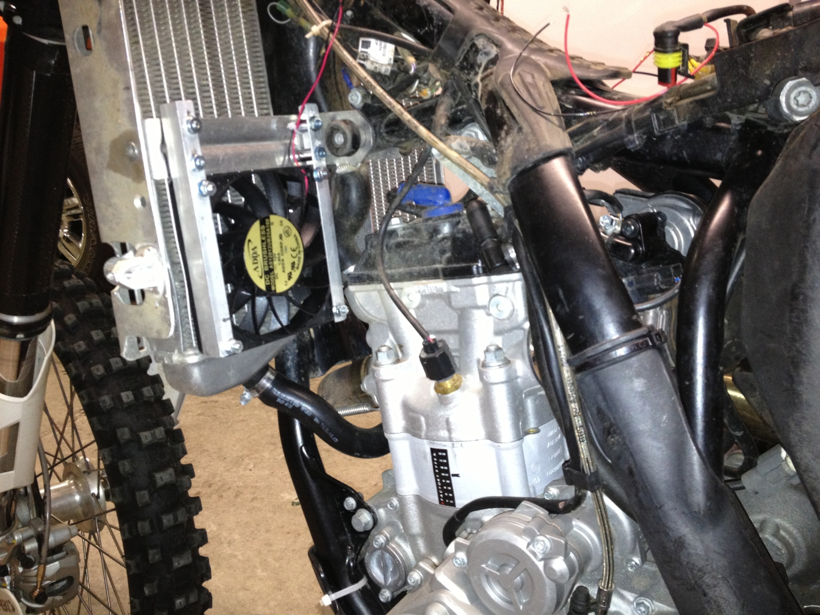 2012 Ktm 350 Sxf Fan Installation South Bay Riders