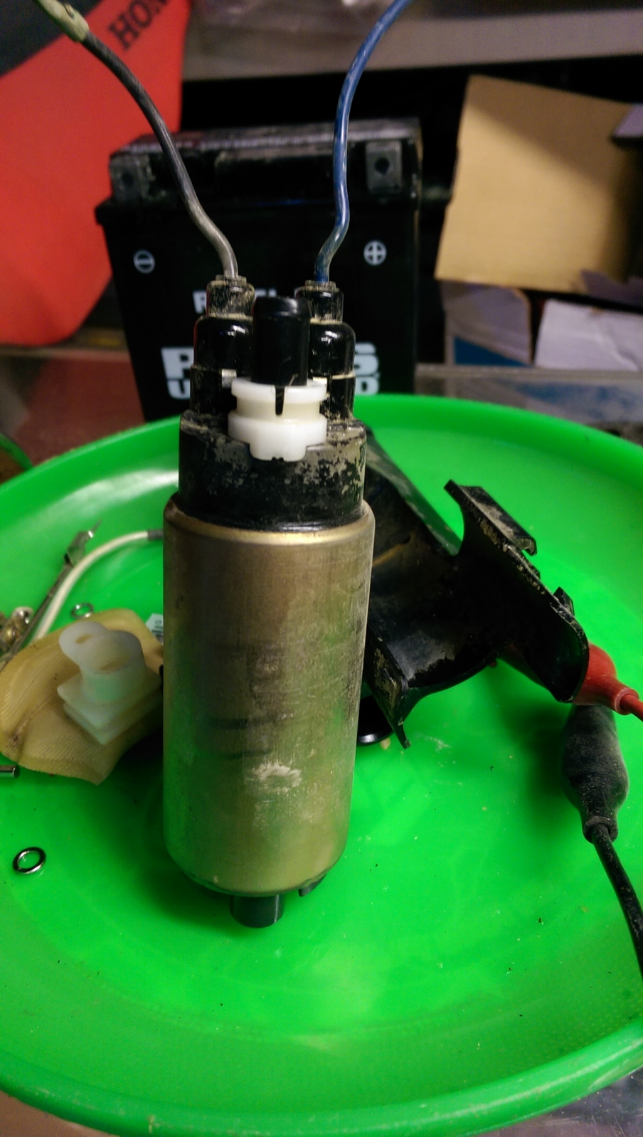 Zx6r Fuel Pump Help South Bay Riders