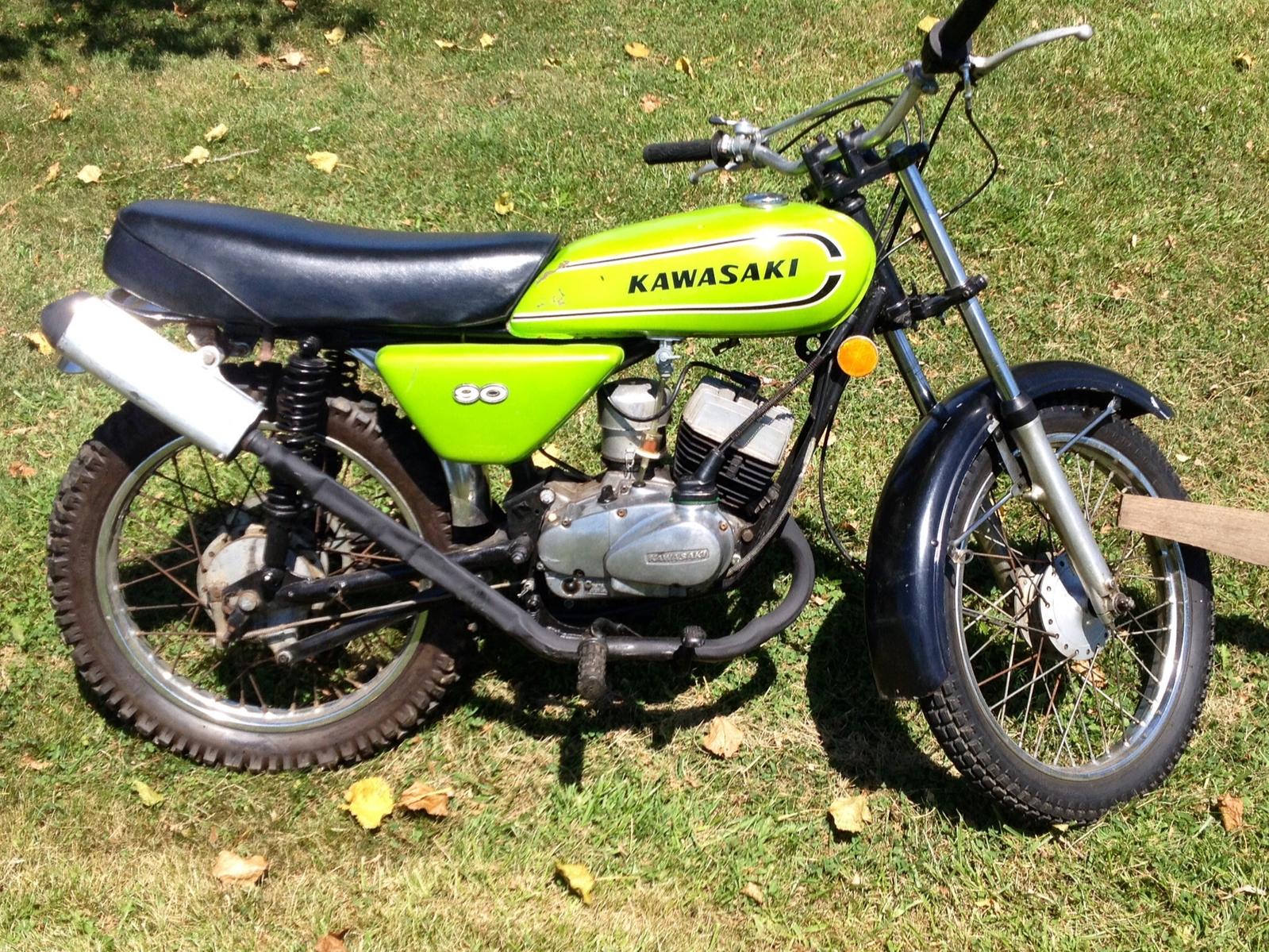 Kawasaki 90 G3SS specs?   South Bay Riders