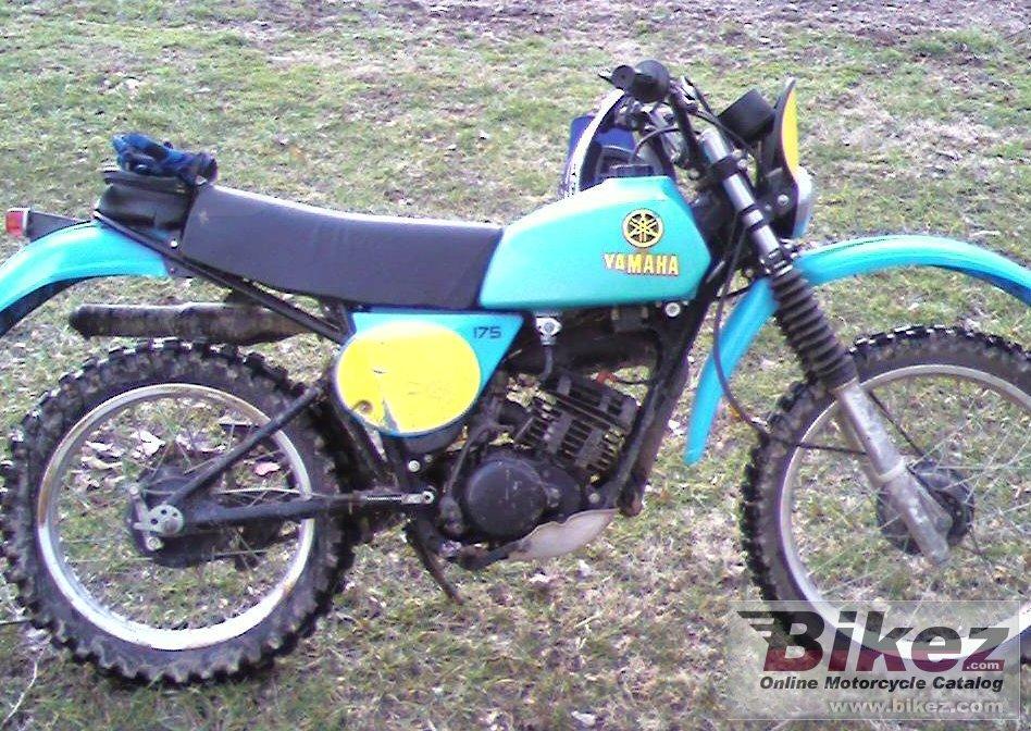 Yamaha 175 Dirt Bike