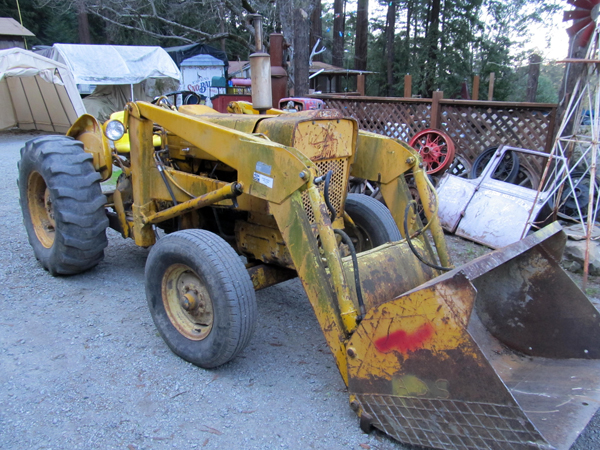 Ford 3500 Tractor : Ford cylinder industrial tractor south bay