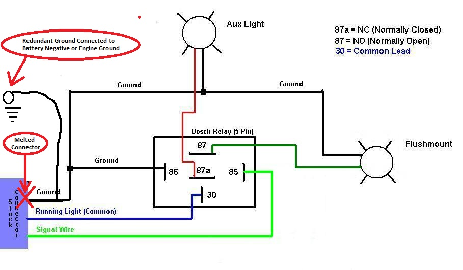 Bosch Relay Wiring Diagram 5 Pole in addition 2009 Prius Aux Video For Free together with Installing New 10   Double 2 Way Lightswitch moreover Stripboard Klon Buffer moreover Two Way Light Switching. on double switch wiring diagram