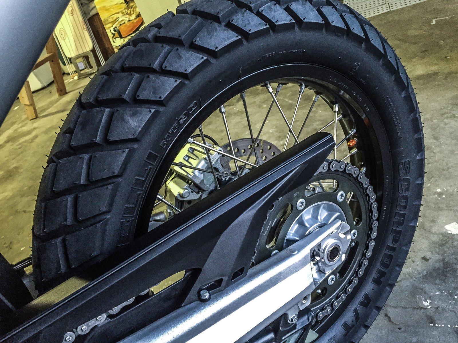 Blue Ridge Tire >> New rubber for the Blue Ridge - Pirelli Scorpion MT 90 A/T | South Bay Riders