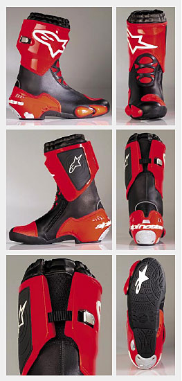 new for 2005 alpinestars supertech boot south bay riders