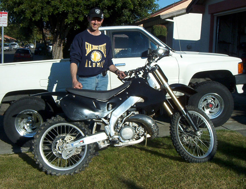 My New Dirt Bike CR250R First ever | South Bay Riders