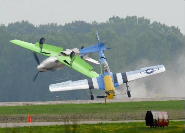 Two P51 Crash South Bay Riders